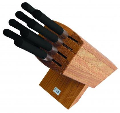 KAI Wasabi Black KAI Wasabi Black - messenblok met 8 messen